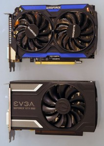 Previous generation GTX 960 compared to current generation GTX 1060 ITX Cards