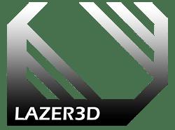 Lazer3D Website Banner Logo