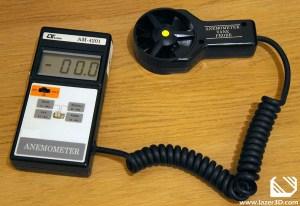 PC Fan Testing Wind Speed Meter Anemometer