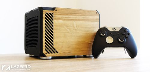 LZ7 with Solid Wood Oak Front Panel