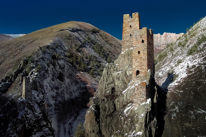 The Ancient Watchtowers Of Ingushetia Lazer Horse