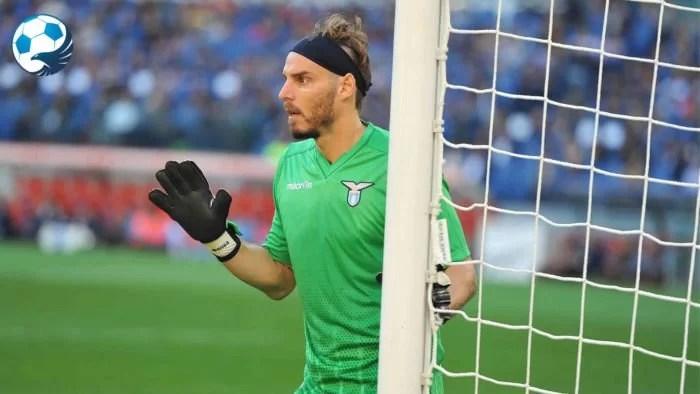 Federico Marchetti portiere della Lazio