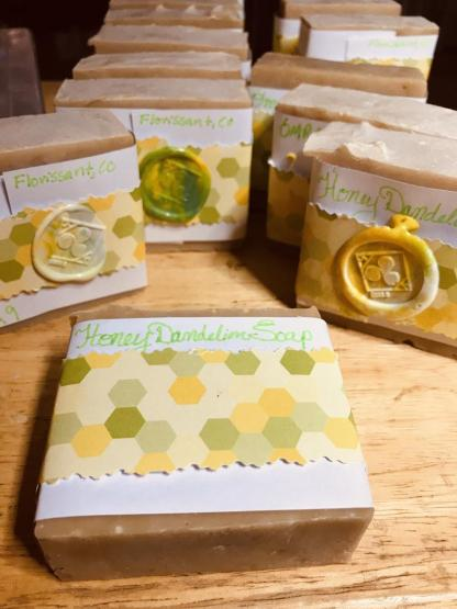 Honey Dandelion Soap