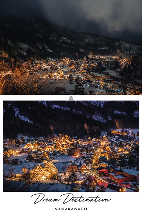 Shirakawago Light Up