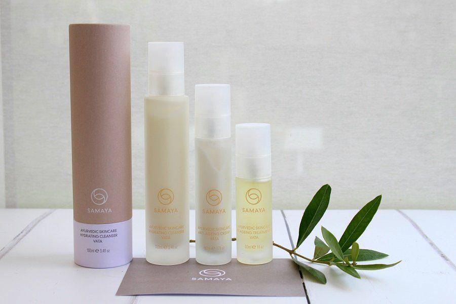 Samaya natural Skincare range