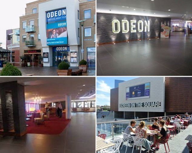 Odeon cinema dorchester great for new movies