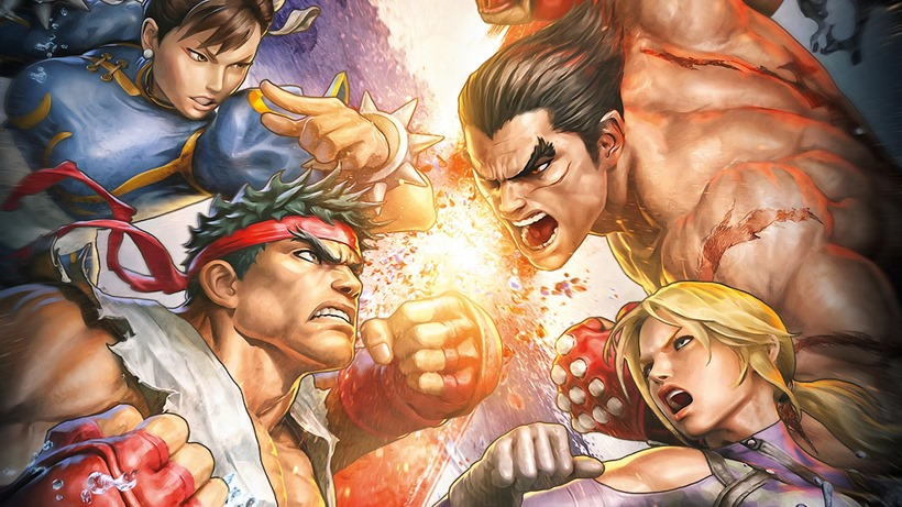 This is from Street Fighter X Tekken. Just imagine it's the other way around ok