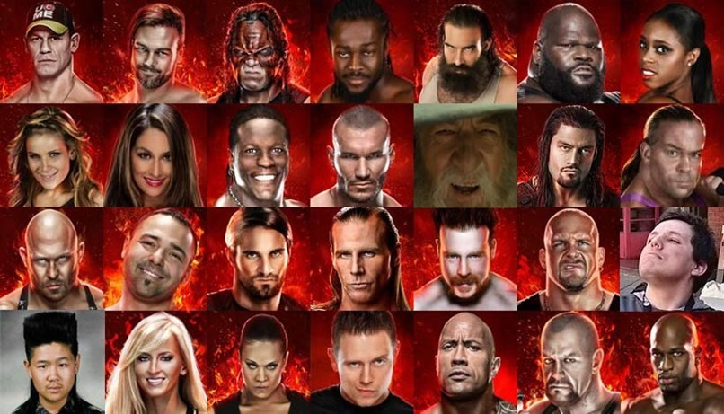 WWE-2K16-roster