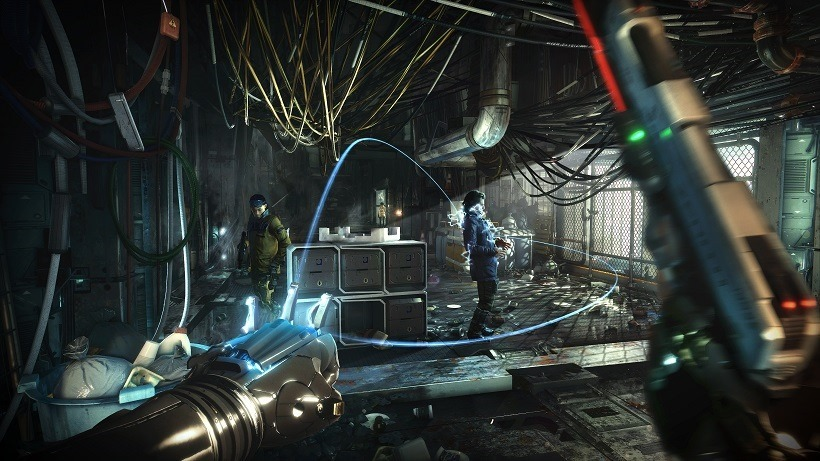 Mankind divided have civil Deus Ex boss fights