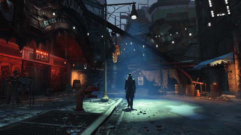 No more Fallout 4 story details coming