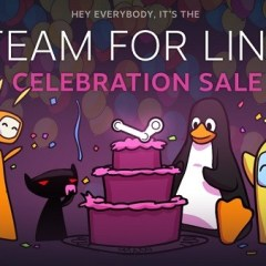 Penguins celebrate as Steam for Linux launches