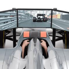 This F1 simulator will cost ya