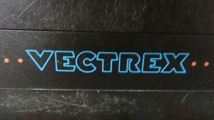 Blue and orange, nice colour theory Vectrex
