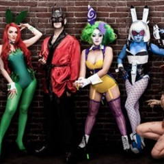 The crazy-good cosplay of the Arkham Bunnies
