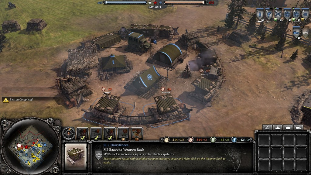 company of heroes 2 the western front armies review. Black Bedroom Furniture Sets. Home Design Ideas