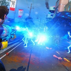 Explosions made pretty in Sunset Overdrive