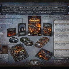 And the Warlords of Draenor Collector's Edition winner is…