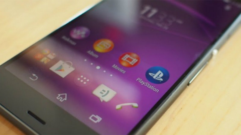 Xperia Z3 app