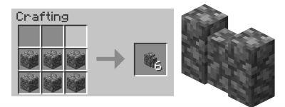 Minecraft cobblestone gate