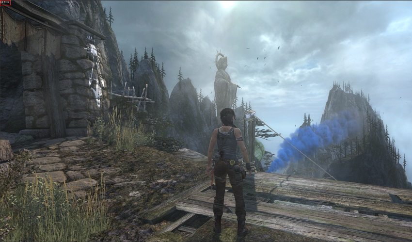 Tomb Raider Steam FPS screenshot