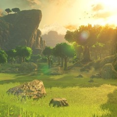 The new Legend of Zelda: Breath of the Wild trailer is pure eye candy