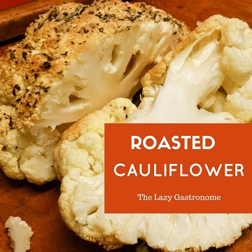 Tender and savory cauliflower