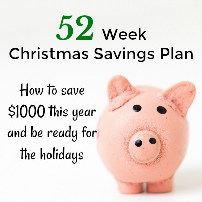 Save $1000 this year to be prepared for Christmas shopping. This easy to follow and easy to manage system will get you there.