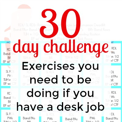 5 Exercises You NEED To Be Doing if You Have a Desk Job