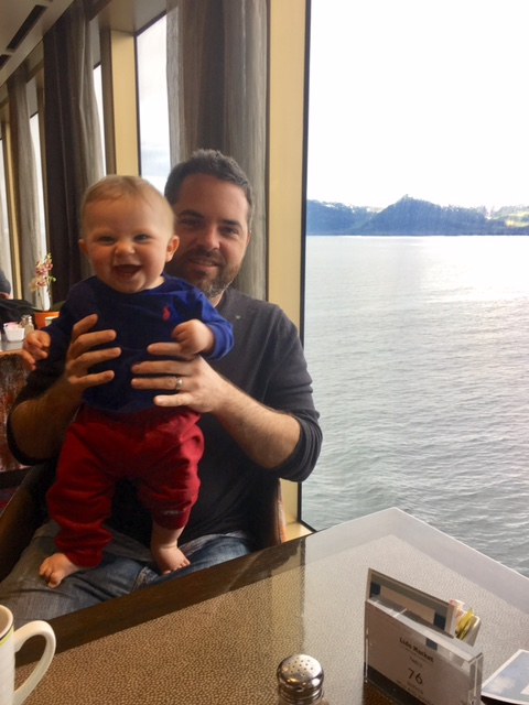 Baby on a cruise