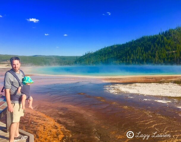 Yellowstone National Park | Midway Geyser Basin | Grand Prismatic