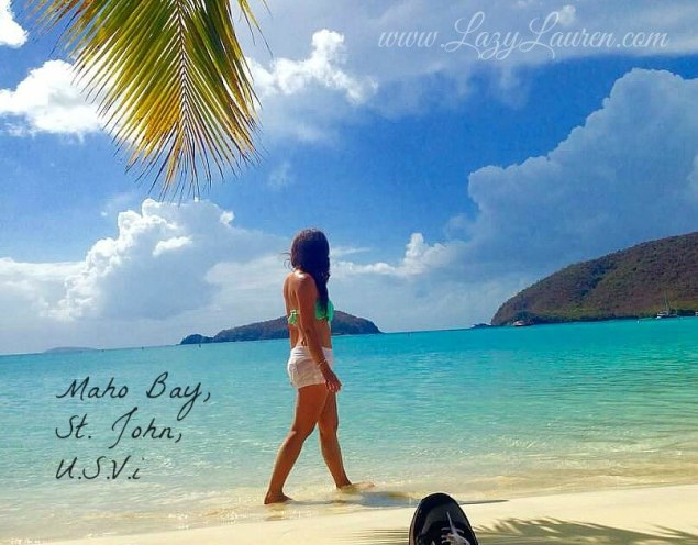Virgin Islands on a budget | St. John | Maho Bay | island hopping