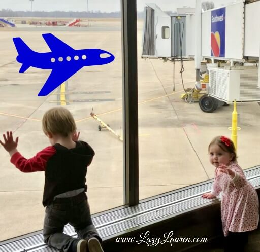carry-on bag flying with kids