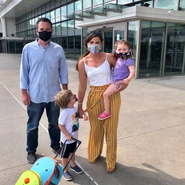 air travel with kids during pandemic