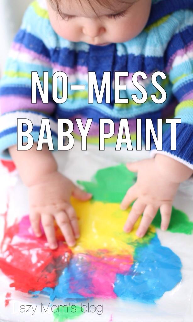 Easy baby art ideas