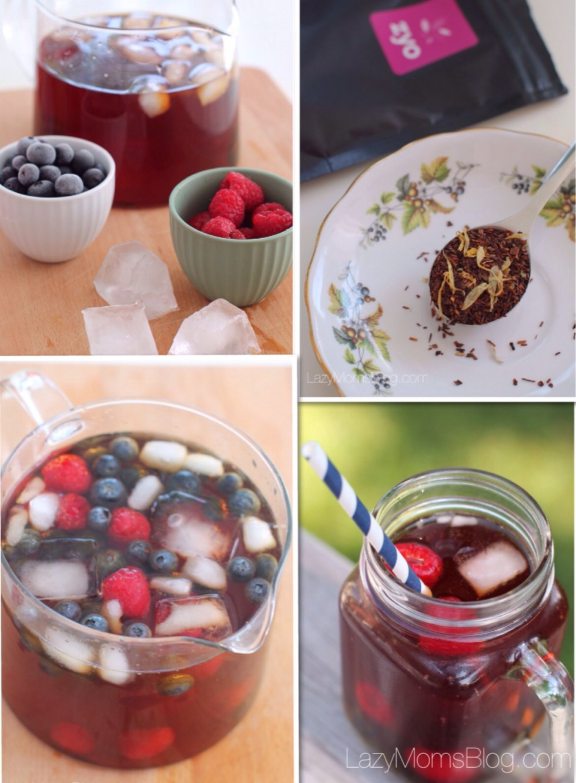 Red tea & fruit ice tea