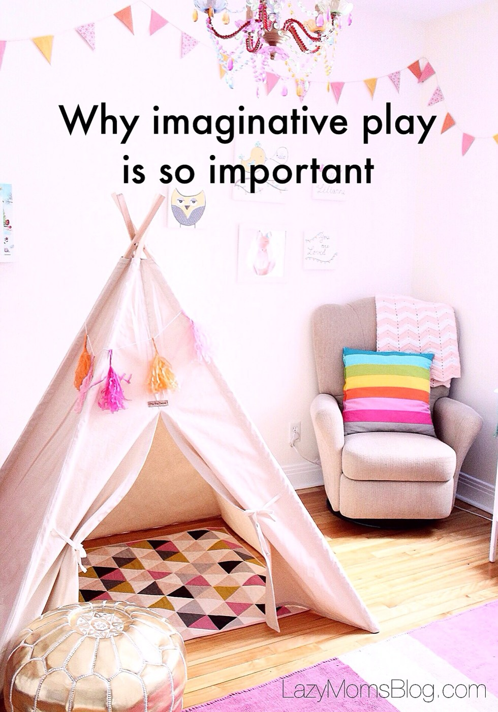 Why imaginative play is so important for your child's development, and how to encourage it in 3 easy to follow tips! #parenting #kidsdevelopment