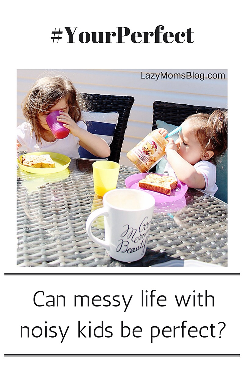 What is perfection, and how do you deal with imperfection? Because let's face it, life with kids is messy, noisy, and tiring. One moms honest opinion. #parenting