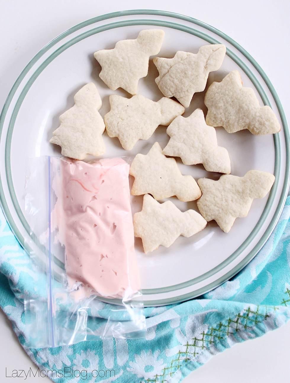 Holiday soft sugar cookies
