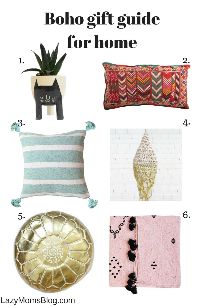 boho gift guide  for the home