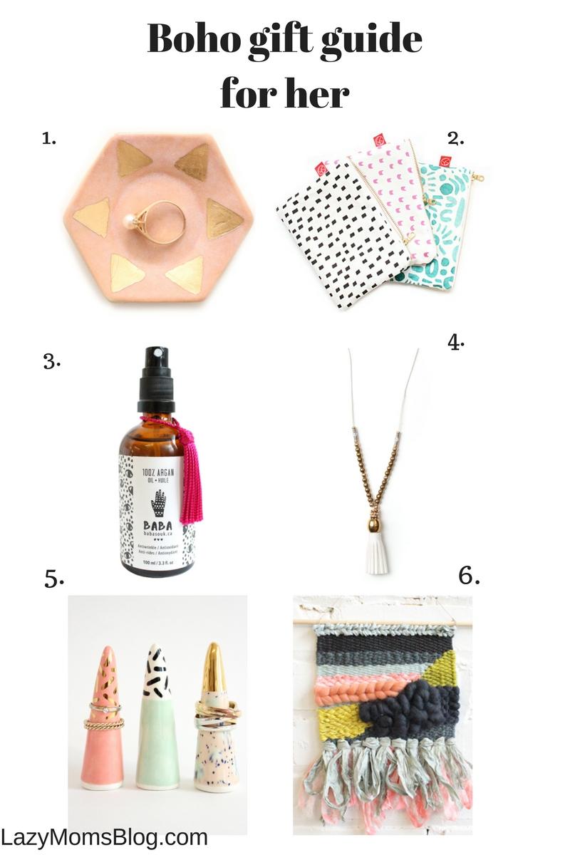 boho gift guide lazy mom u0027s blog