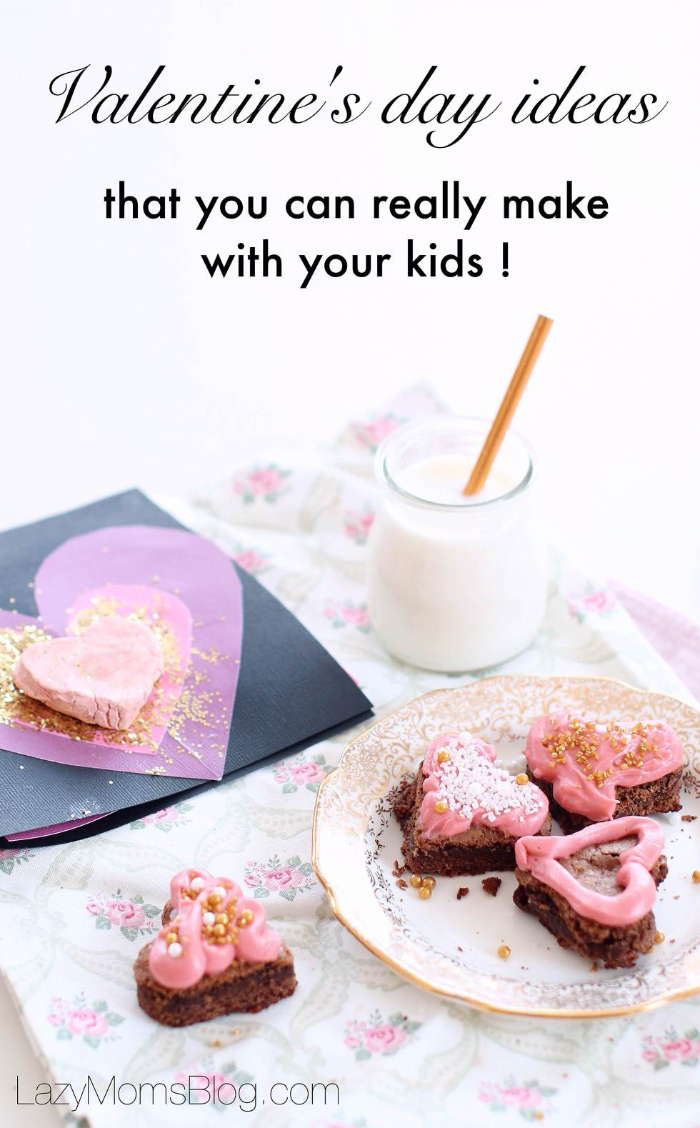 Valentine's day ideas that you can really make with your kids: toddlers and preschoolers! Easy a valentine,s card tutorial and other doable ideas! ,