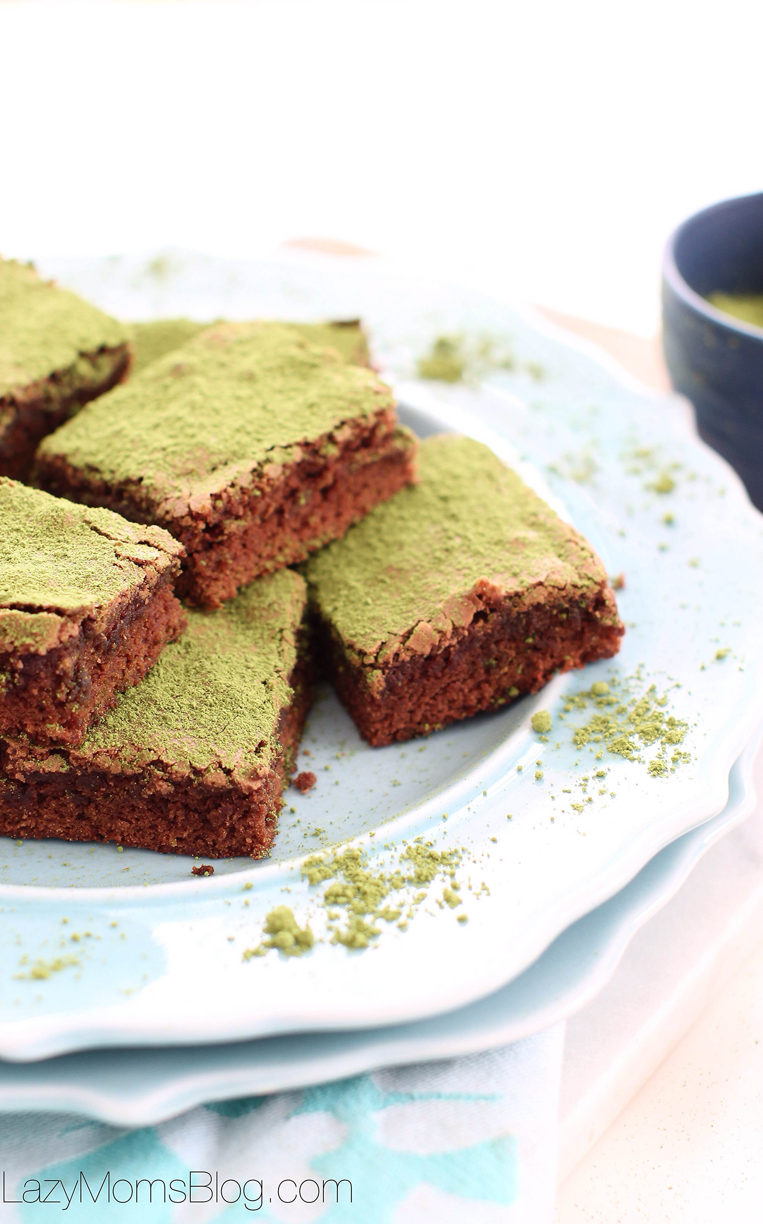 how to make green brownies