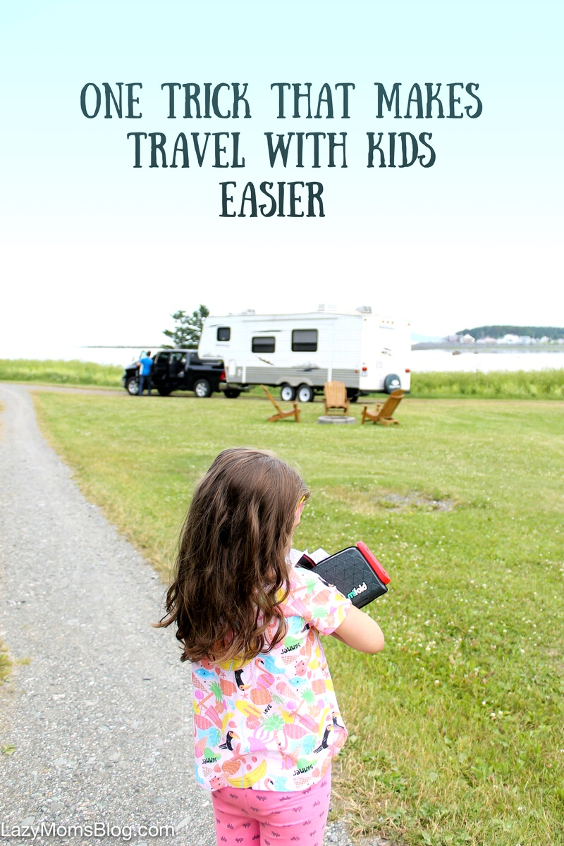 One trick that makes travel with kids easier
