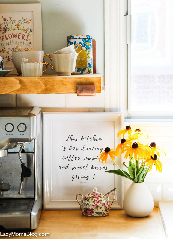 Free kitchen printable