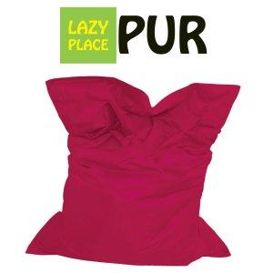 Lazy Place Sitzsack Pur magenta