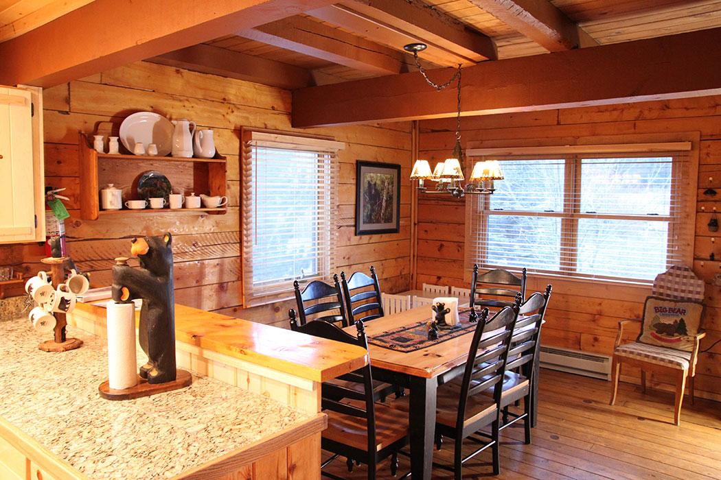 Fishing Lodge Cabin in Greer