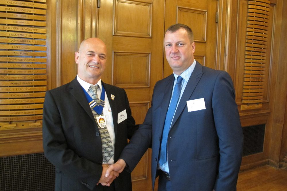 Graham Green is the new President of the Institute of Fire Safety Managers