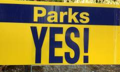 Good Signs for Parks  (August 12)