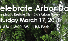Arbor Day Celebration in LBA Woods