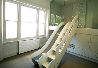 Cool Bedrooms With Slides